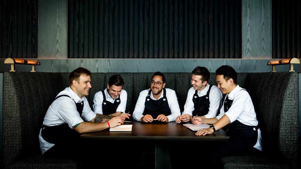 Ensue kitchen team