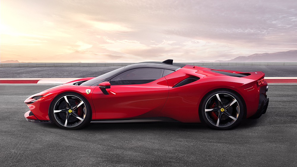 Ferrari S New Hybrid Hypercar Is The Marque S Most Powerful Road Car Robb Report