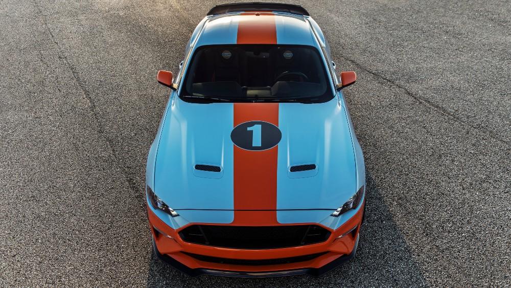 Brown Lee Performance's Gulf Heritage Mustang