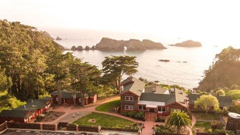Harbor House mendocino