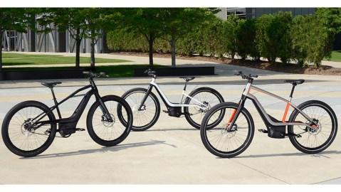 Harley-Davidson new E-Bicycles