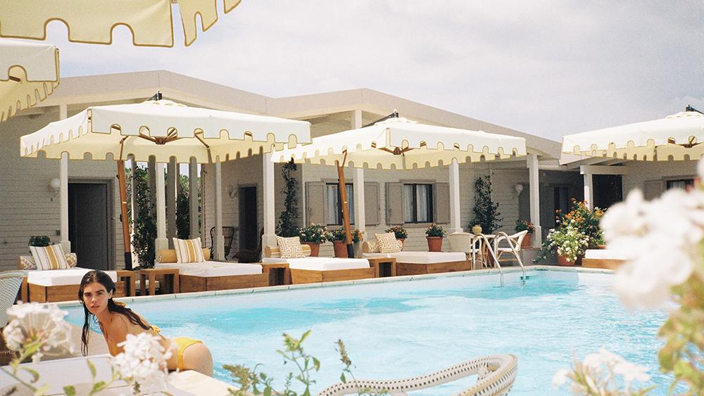 Poolside at Hotel Epi Plage