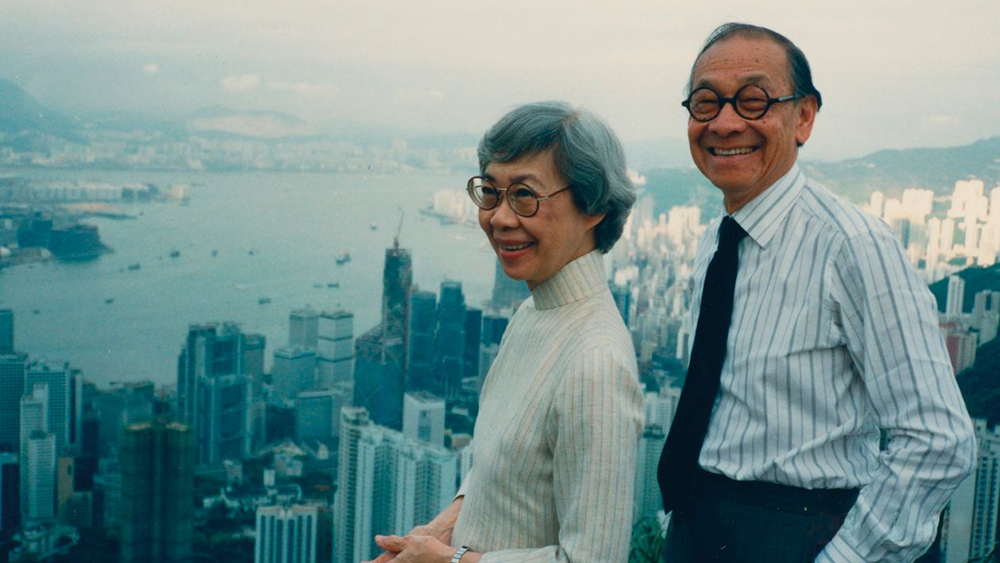 Architect I.M. Pei and wife Eileen