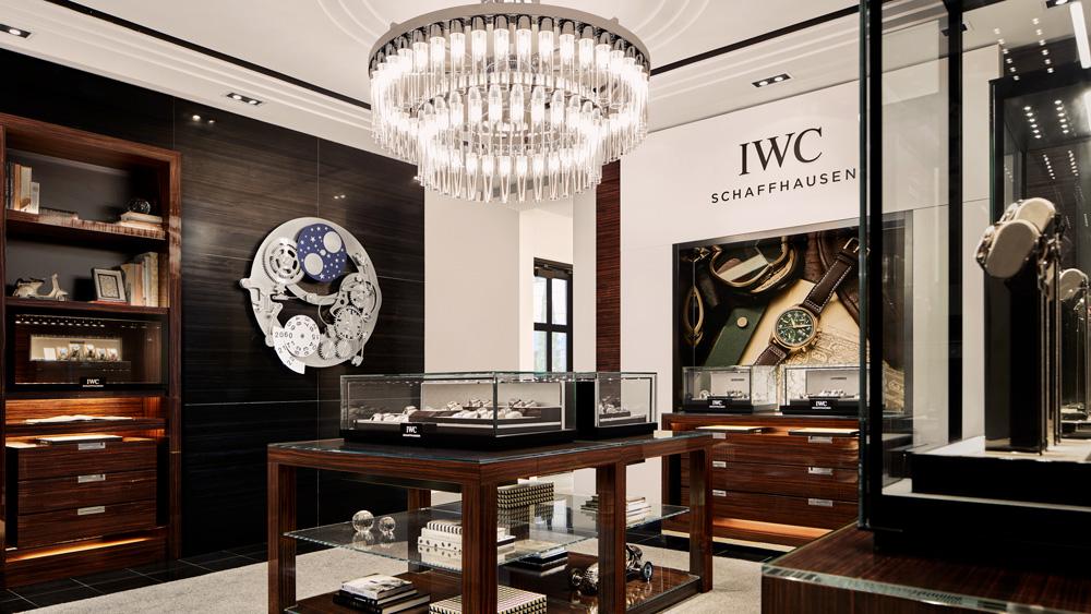 IWC Chicago Boutique Interior