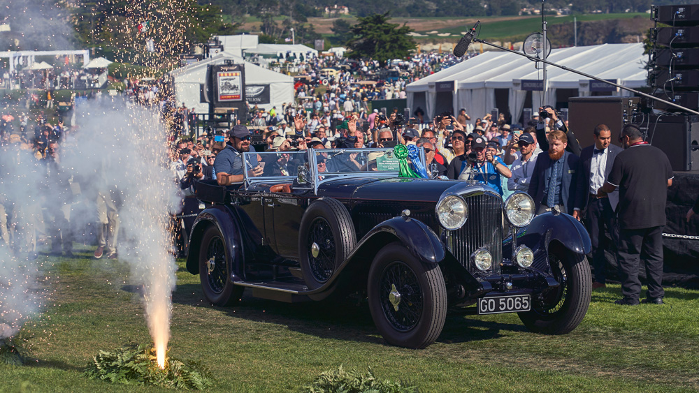 This Bentley won Best of Show at the 2019 Pebble Beach Concours d'Elegance.