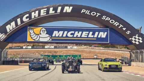 Bentley Celebrates Centennial at 2019 Rolex Monterey Motorsports Reunion.