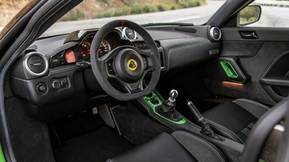 The 2020 Lotus Evora GT.