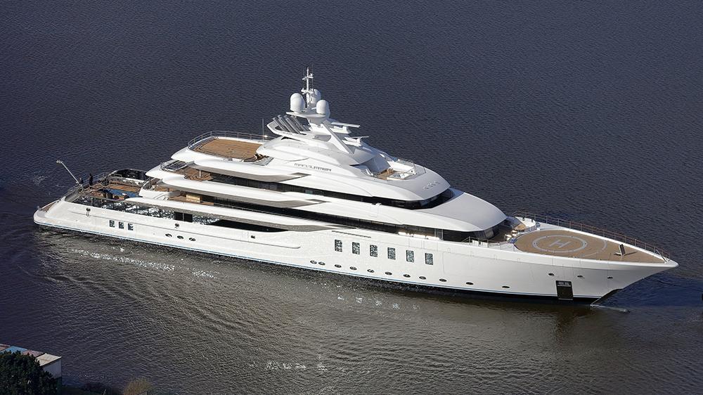 Lürssen Madsummer 312-foot yacht