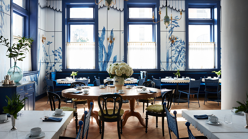 Breakfast Room at New Orlean's Maison de la Luz