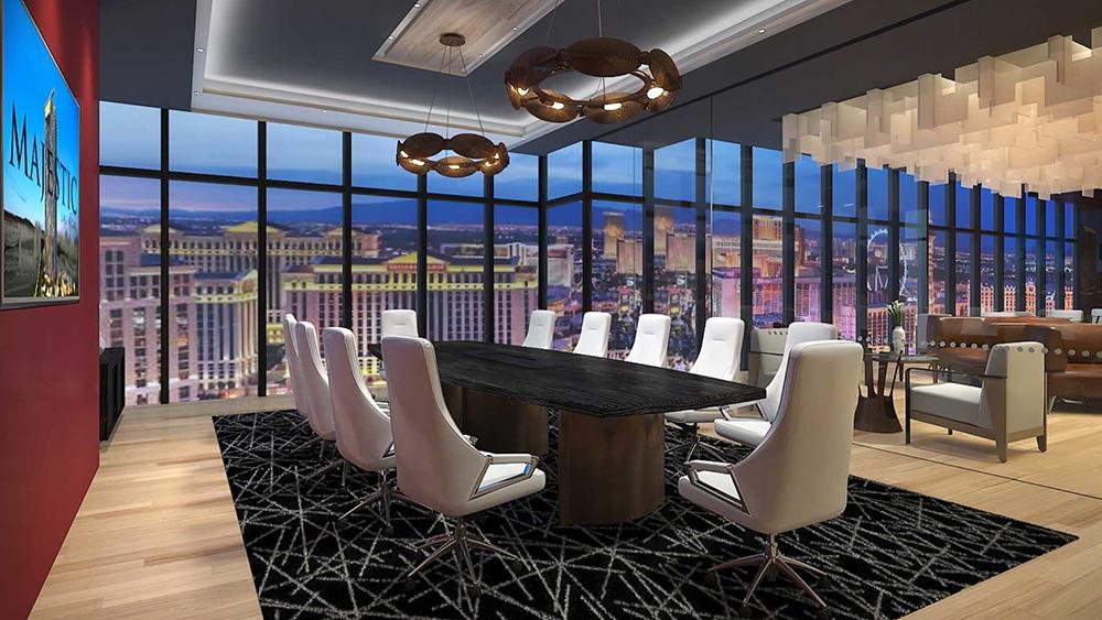 SkySuite at Majestic Las Vegas Opening in 2023