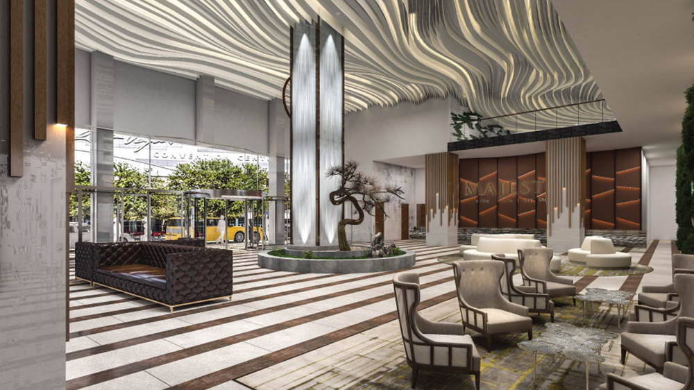 Lobby of Majestic Las Vegas Opening 2023