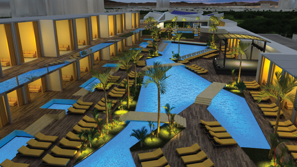 Pool at Majestic Las Vegas Opening in 2023