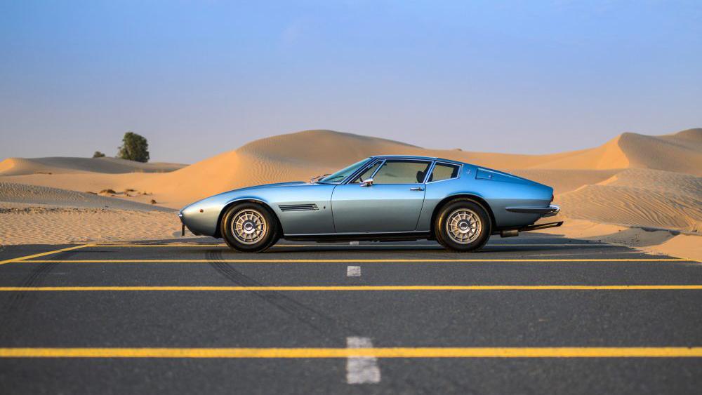 Maserati's classic Ghibli.