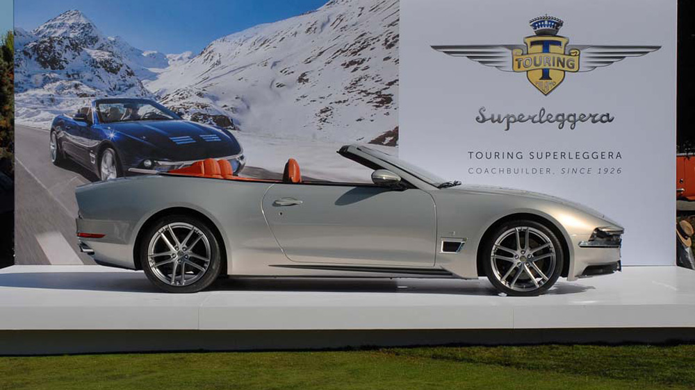 One of 15 Touring-bodied examples based of the latest Maserati GranTurismo Cabriolet.