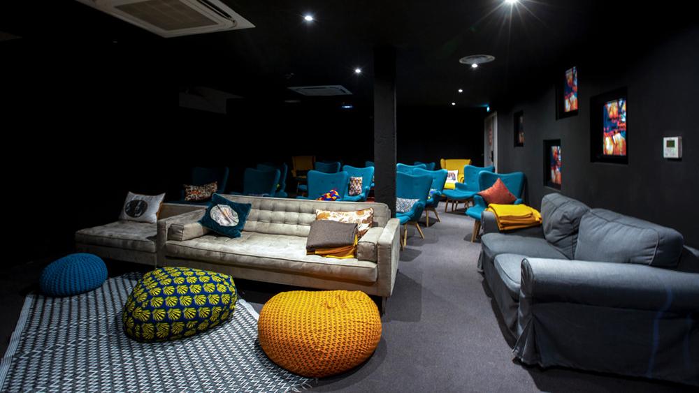 MOB Hotel Paris's Winter Cinema