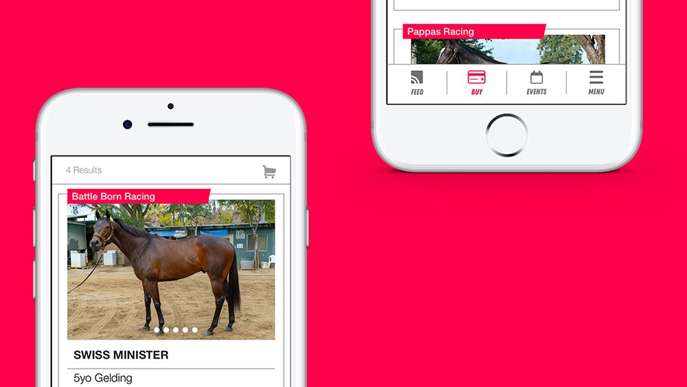 The MyRaceHorse mobile app