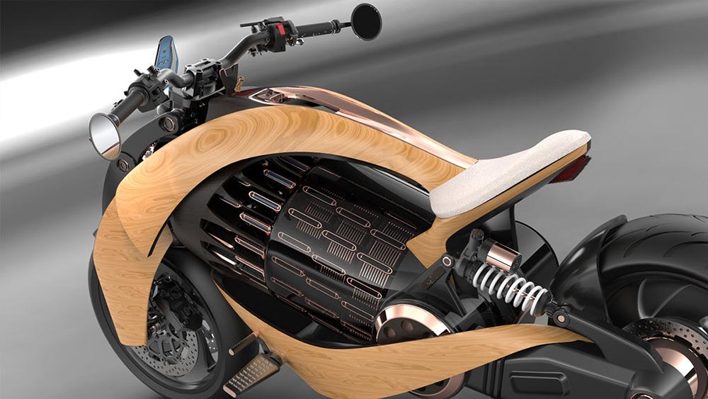 Newron Motors new electric motorcycle