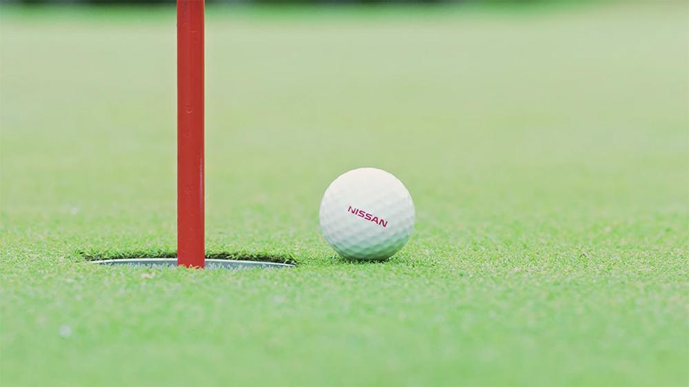 Nissan's ProPilot Golf Ball