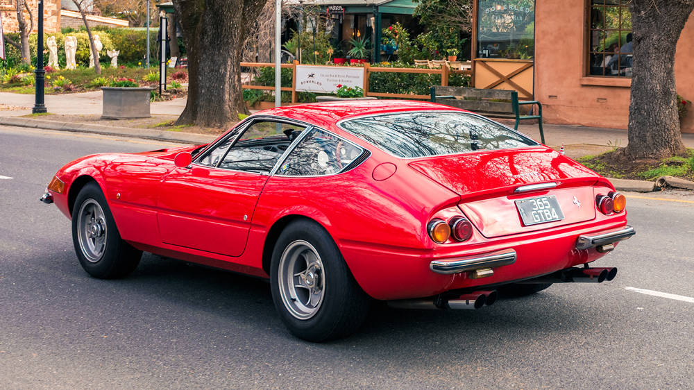 A Ferrari 365 GTB/4 Daytona.