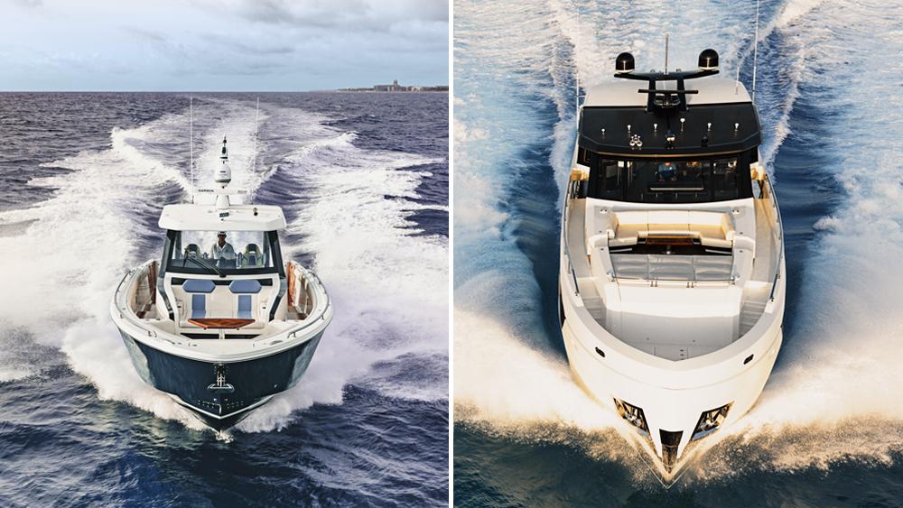 Ocean Alexander's new 45D yacht and 90R superyacht