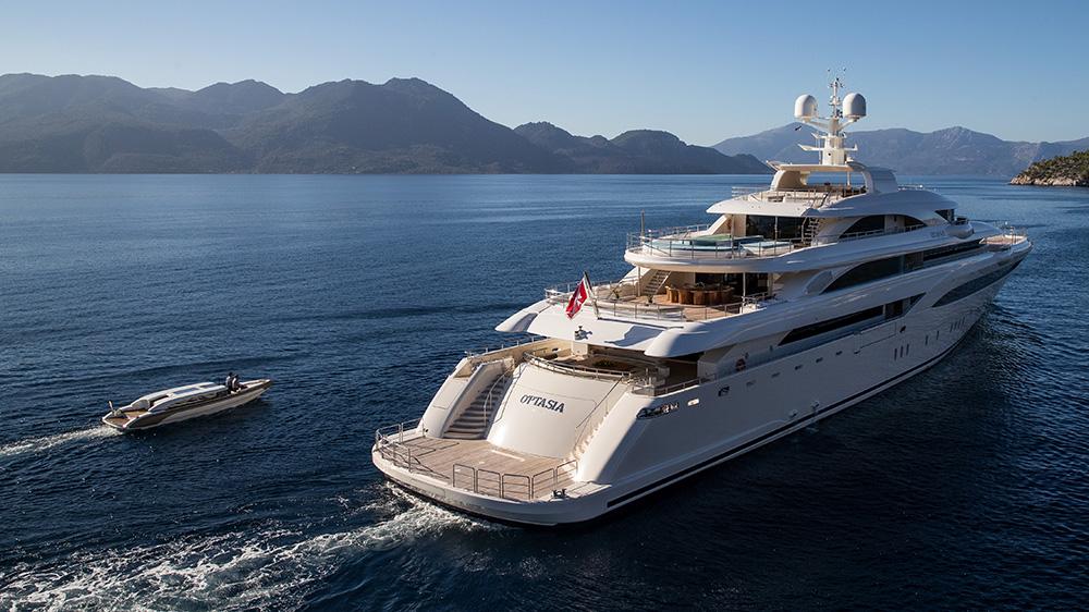 O'Ptasia superyacht custom Onda 321L Tender