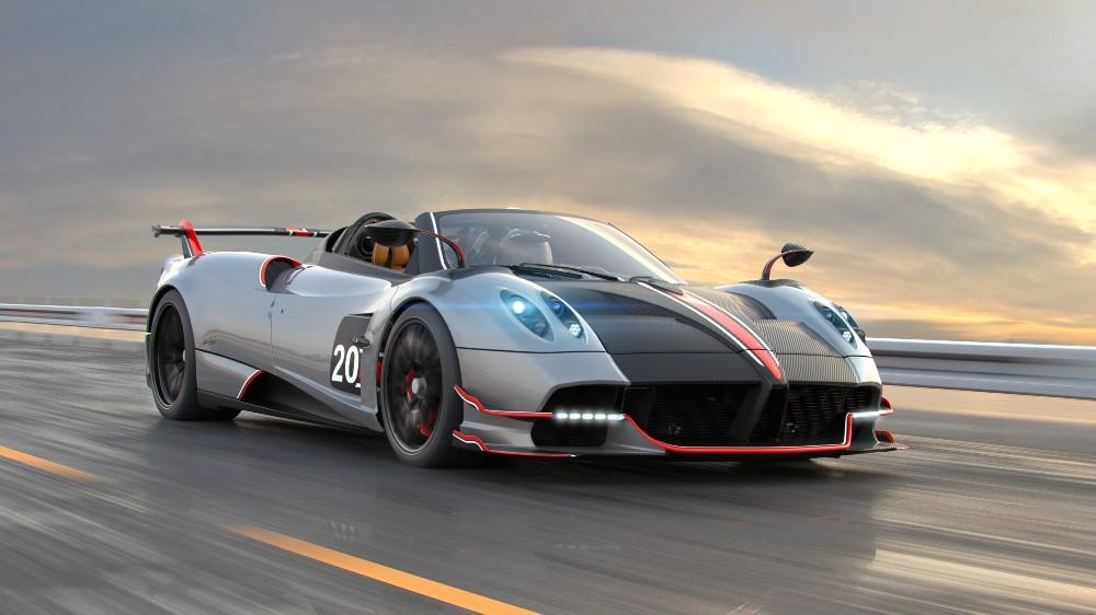 "The Pagani Huayra Roadster BC in ""CSR Racing 2"""