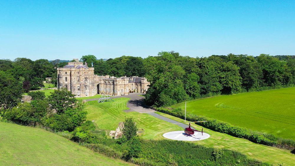 Seton Castle in Scotland