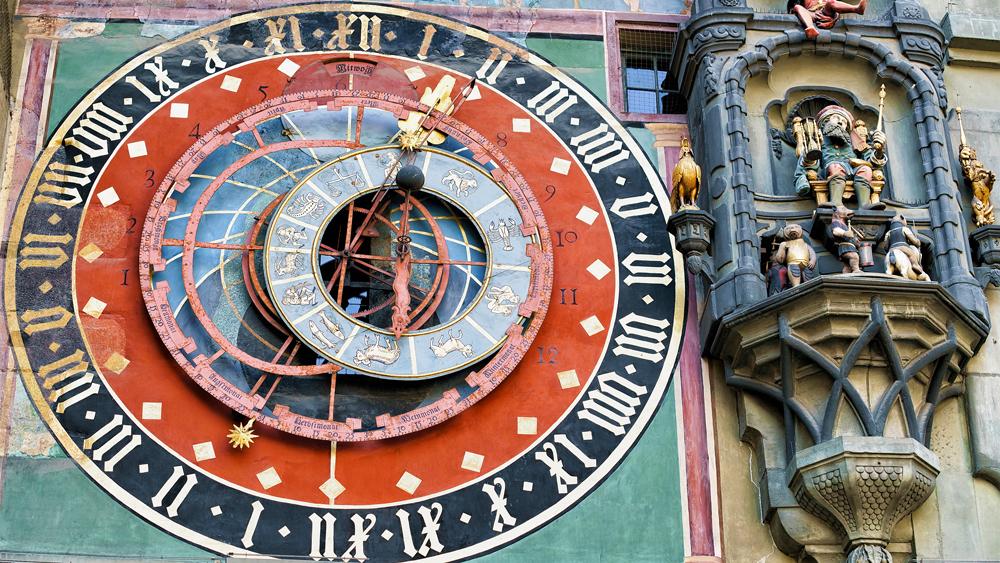 Zytglogge Clock in Bern, Switzerland