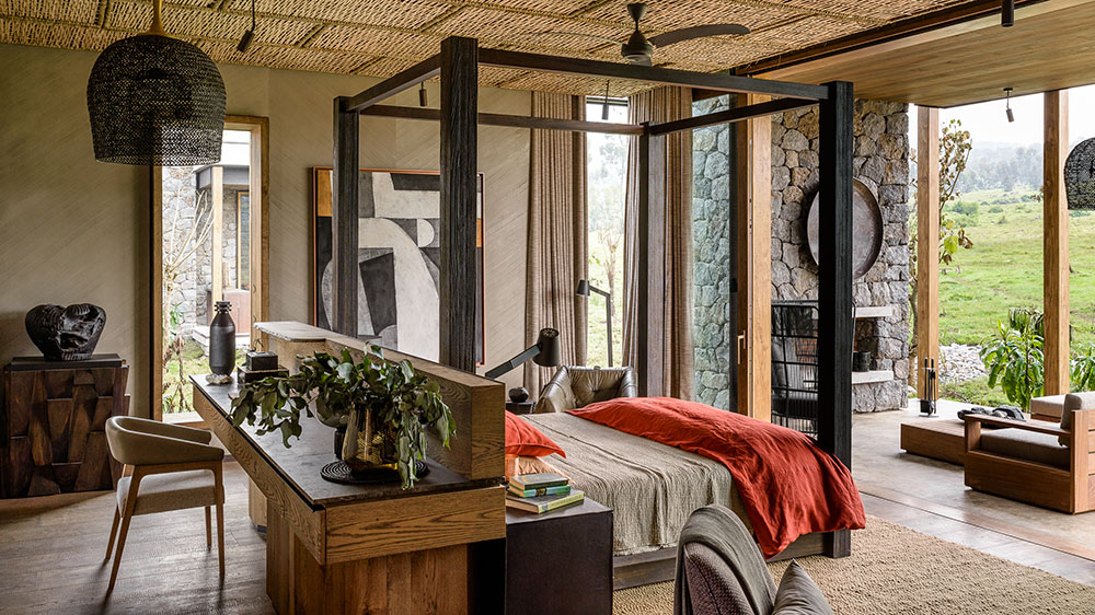 Singita Kataza house bedroom