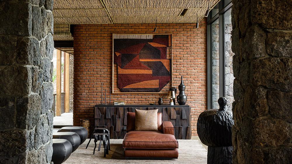 Singita Kataza house lounge