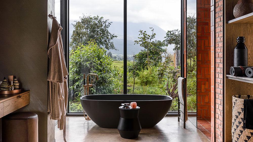 Singita Kwitonda lodge bathroom