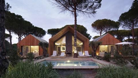 The Cabana villa garden at Sublime Comporta