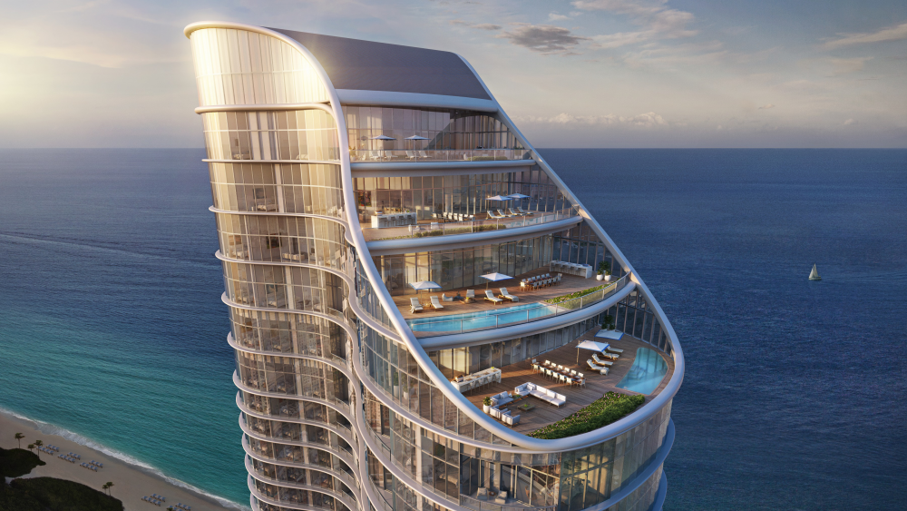 The penthouse at The Ritz-Carlton Residences, Sunny Isles Beach