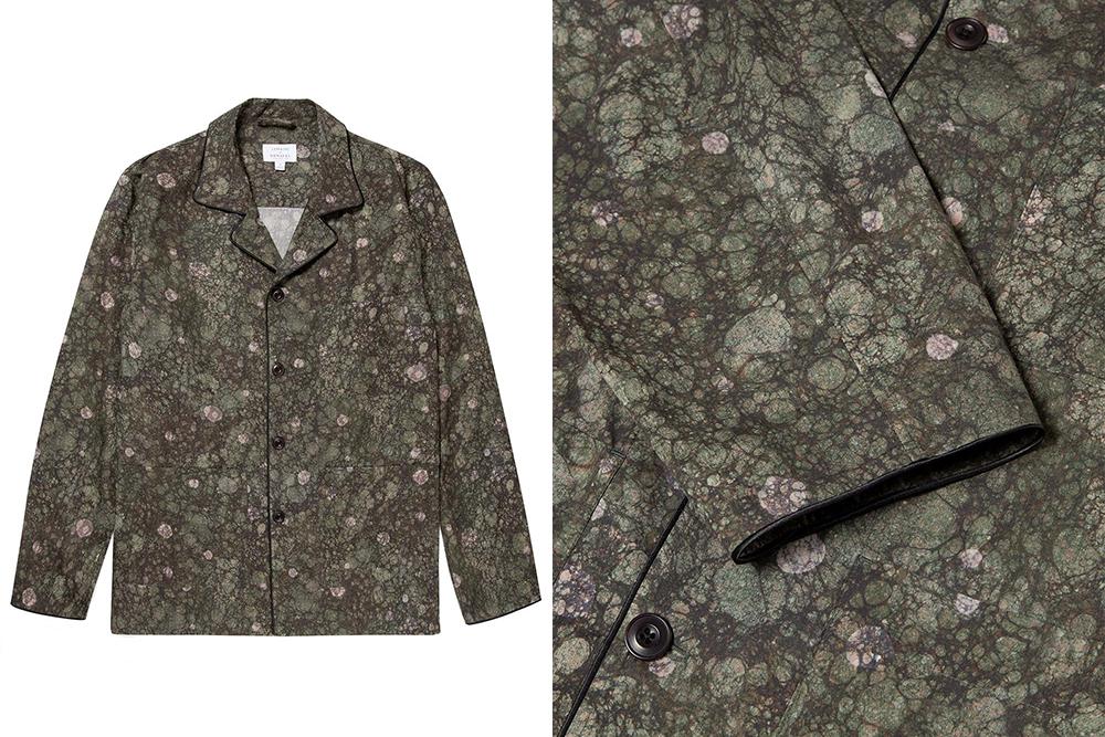 Sunspel x Lemaire shirt jacket