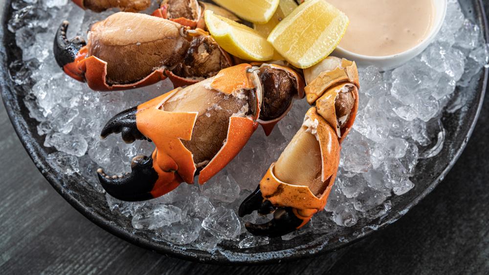 One Fifth Gulf Coast stone crab claws