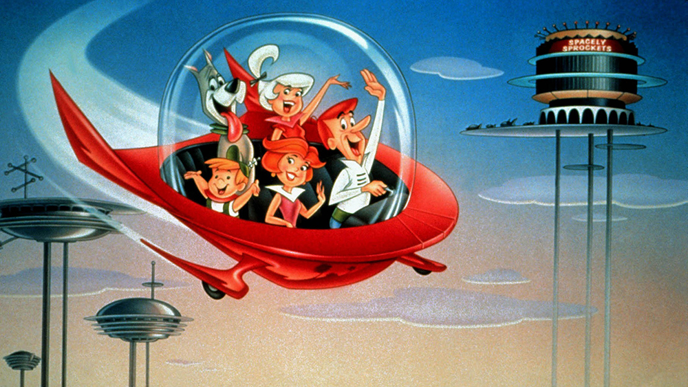 Astro, Judy, Elroy, Jane & George Television: The Jetsons (TV Serie) Usa/Can 1962û1963, 23 September 1962.