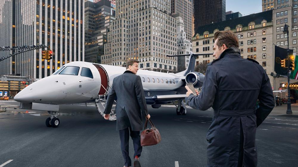 Victor's New York Business Flight
