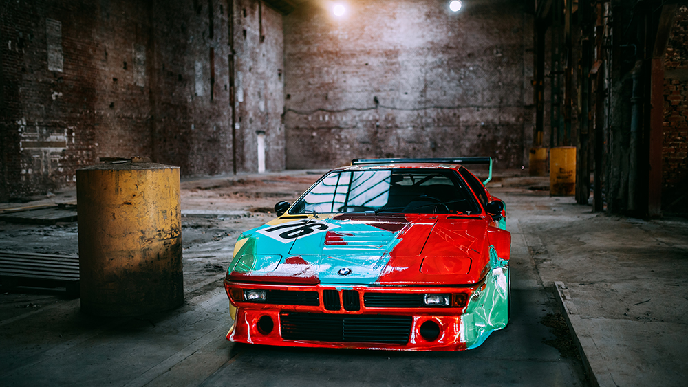 Andy Warhol-painted 1979 BMW M1