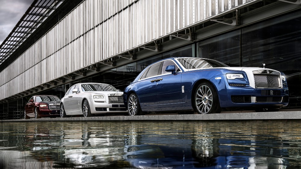The Rolls-Royce Ghost Zenith Collection