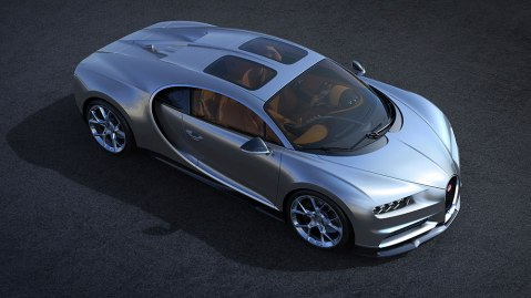 Bugatti Chiron Skyview