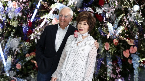 Stewart Resnick and Lynda Resnick in the front rowRodarte show, Front Row, Fall Winter 2019, The Huntington Library, Los Angeles, USA - 05 Feb 2019