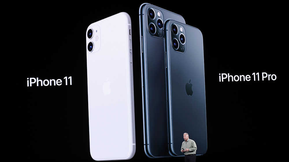 Apple Senior VP of Worldwide Marketing Phil Schiller speaks about the iPhone 11 Pro during the Apple Special Event in the Steve Jobs Theater at Apple Park in Cupertino, California, USA, 10 September 2019.Apple Special event at Apple Park, Cupertino, USA - 10 Sep 2019