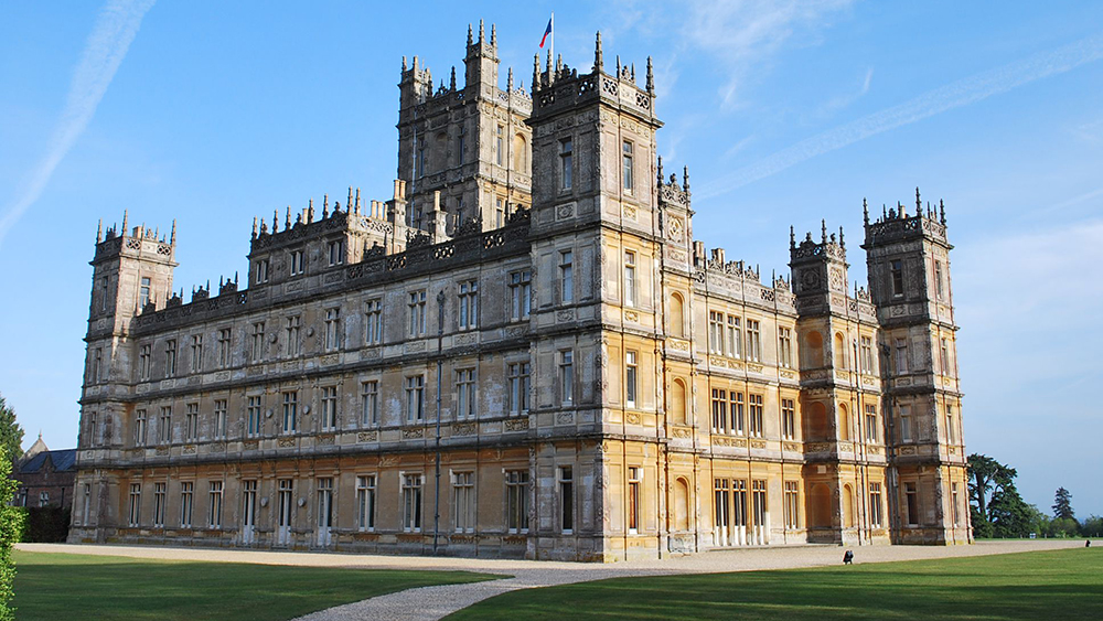 Highclere Castle from Downton Abbey
