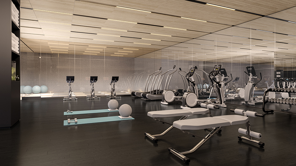 Gym at 200 Amsterdam in the Upper West Side of New York