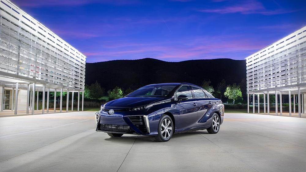 Toyota Mirai Hydrogen-Fuelled Car
