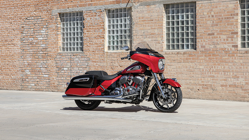 Indian Motorcycle's 2020 Chieftain Elite.