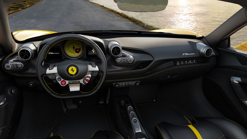 The Ferrari F8 Spider.