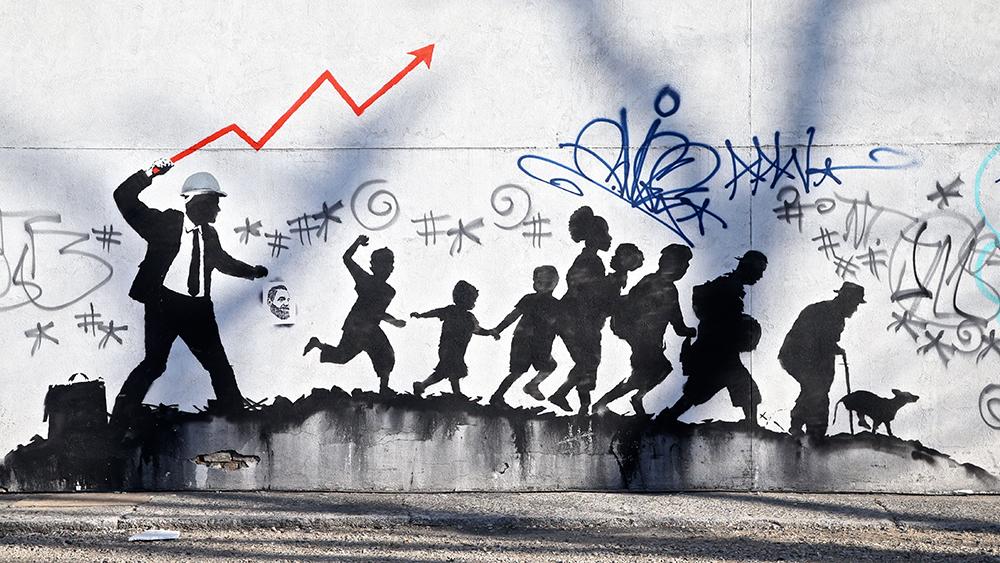 Banksy art spotted in Midwood BrooklynBanksy NYC Residency, New York, USA - 19 Mar 2018