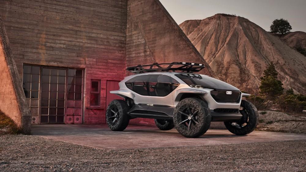 The Audi Ai:Trail Quattro concept