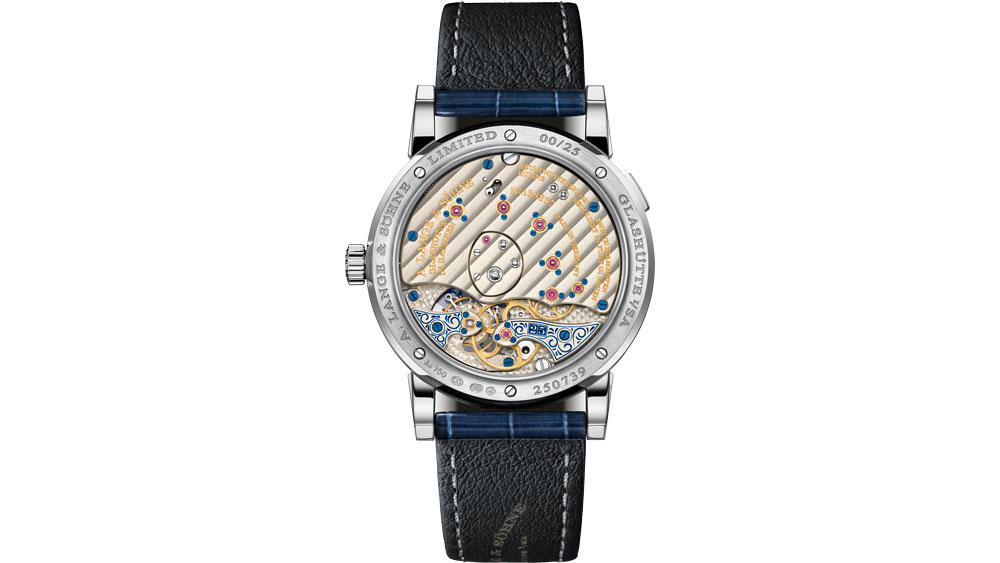 "Lange 1 Tourbillon ""25th Anniversary"" Caseback"